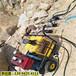 西藏那曲岩石解体修建高速公路液压劈裂机专破硬石头