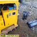 龙岩长汀地铁施工挖破硬石头机器破石方案