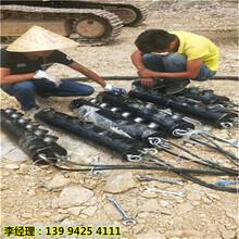 黑龙江牡丹江市替代放炮破石头无声分石机低投入高回报图片