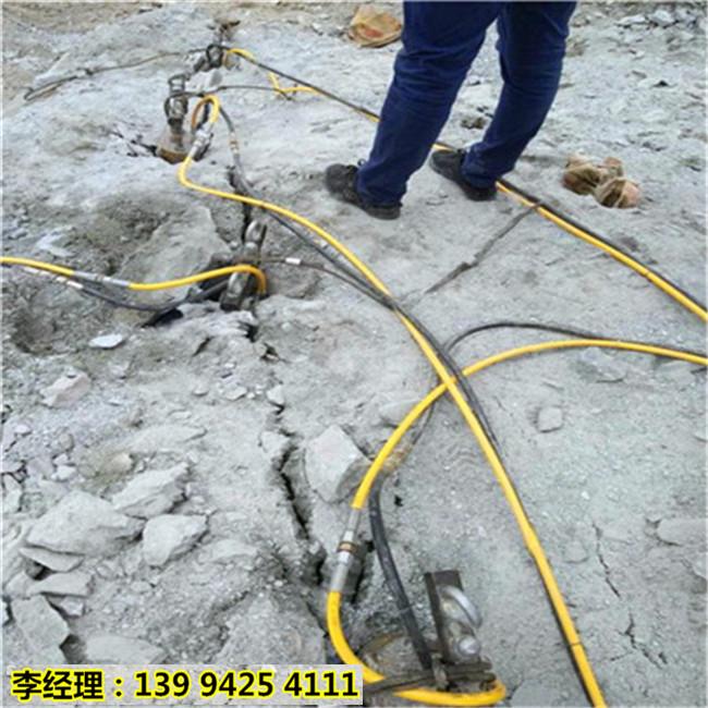 毕节织金引水涵洞修建有没有轻便的破石头设备代替火工品