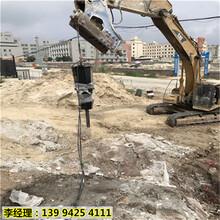 新疆图木舒克矿山玄武岩开采大型劈裂机哪个牌子好图片