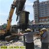 江苏常熟市坚硬岩石拆除快速破石头机器每立方成本