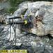 三明尤溪劈裂棒每天能劈多少方石头岩石劈裂机开采成本
