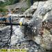 福建福安石头太硬用液压劈石机这个机器操作简单