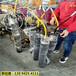 福建石獅巖石液壓分裂棒和膨脹劑相比那種效率快破石方案