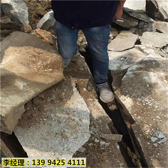 绵阳平武石材场开采不能放炮用裂石机质量怎么样