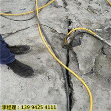 甘肅敦煌巖石太硬破碎錘開采慢石頭分裂機操作簡單圖片
