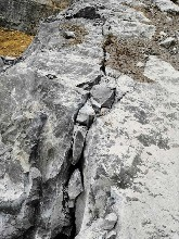 安徽黄山房屋基础施工遇到岩石拆除分石设备缩短工程时间图片