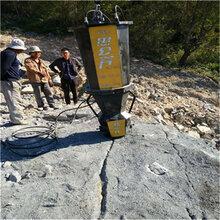 陕西商洛有没有好的办法代替开采石头破碎岩石机器图片