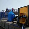 河南鄭州新款水砂機無粉塵除銹效率高