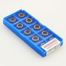 R5刀粒RP1003数控铣刀片加工不锈钢件塑料模具钢图片