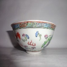 粉彩龙凤纹碗正规拍卖价格图片