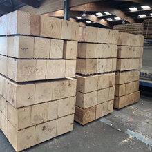 德国金威木业进口欧洲橡木木方木板材白橡实木木料橡木原材图片