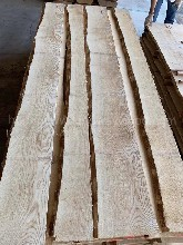 金威木业进口木材欧洲材白蜡木白腊实木板材木板毛边板ABC图片
