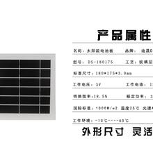 物联网监控摄像头太阳能板,选迪晟太阳能板厂家定制
