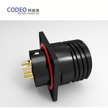现货销售乘用车电池系统连接器卡扣式防水航空插头图片