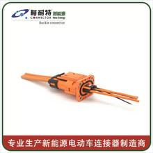 性价比高的电动汽车动力锂电池高压线束防水连接器多芯信号圆形防水线束图片