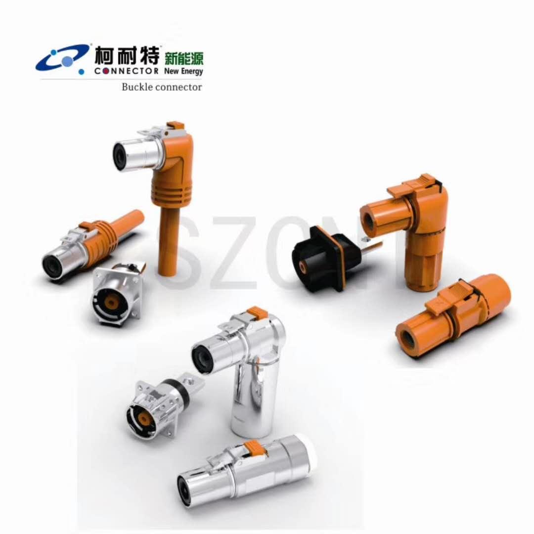 优质的PACK电池高压防水连接器多芯信号圆形防水插头插座