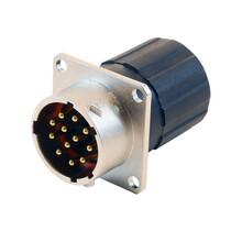 高质量的圆形工业卡口式连接器信号接插件卡口式快速线束图片