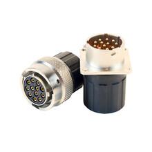 超值的PACK电池高压防水连接器卡口式快速航空插头图片