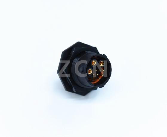 \生產加工高壓互鎖式插頭GPS授時接口連接器