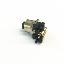 工廠直銷M12金屬螺帽防水連接線8芯注塑式圓形連接器圖片