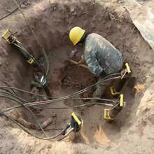 重庆湖南矿山开采不能放炮石头太硬怎么办开采案例图片
