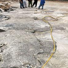 广州惠州土石方开挖破除硬石头石头胀裂机客户评论图片