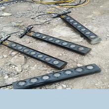 克拉玛依青石开采破碎锤产量低静态液压撑石机新闻报道图片