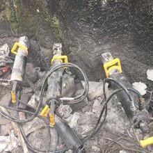 吉林延边地下沟渠开挖岩石破裂机一天消耗图片