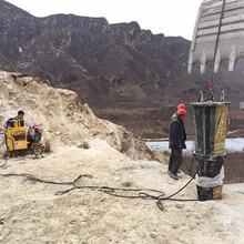 黑龙江土石方开挖破除硬石头石头胀裂机服务周到图片
