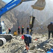 辽宁本溪山上开采石头效率高的设备量大从优图片