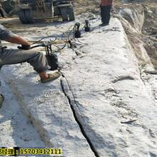 南阳市房地产基坑遇硬石头不能爆破用什么机械-多少钱一台图片