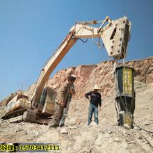 泰州市取代大挖机液压劈石机-排忧解难图片