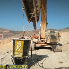 安庆市岩石撑裂机采矿机械破拆石头的机械-质量有保证图片