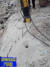 唐山市可以代替放炮破碎開石頭的機器-當地經銷商圖片