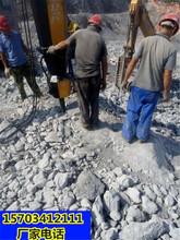 中山破石头机器劈裂棒有哪些型号一一直被模仿图片