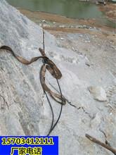 巴彦淖尔市采硬石头房地基开挖石头用劈石机一哪家质量好图片