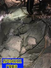 丽江市可以代替破碎锤开采硬石头的机器一生产视频图片
