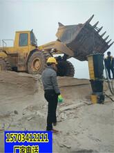 固原采石场开采静态破石设备一台多少钱一一天产量图片
