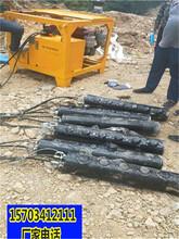 朔州市不用破碎锤还有什么办法破开硬石头一生产厂家图片