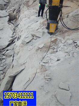 济源工程开挖快速破开石头机器一一直被模仿