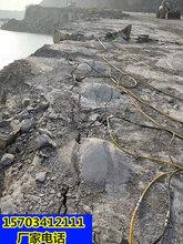 黃山礦山不能放炮破石還有什么方法破石一哪家便宜圖片