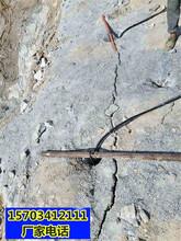 遵义市破石头机器劈裂棒有哪些型号一拿货货源图片