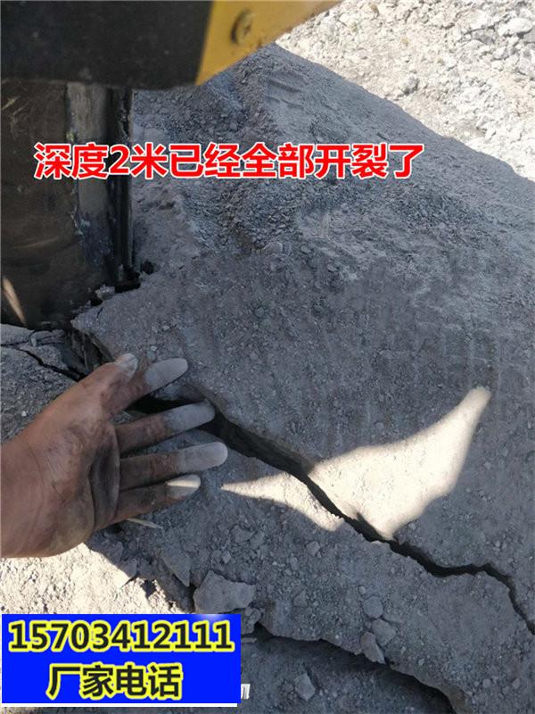 龙岩石灰石矿山开采破石机石头设备一尖