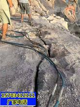 吕梁采石场开采大理石不让放炮怎么办开石设备一咨询热线图片