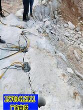 北海市道路扩宽硬石头开不动破石机一生产厂家图片
