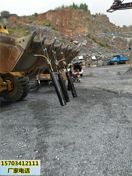 金华市采石场开采硬石头用的裂石设备一购买地址