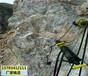 龙岩市地基工程隧道不允许放炮液压岩石劈裂机综分解本