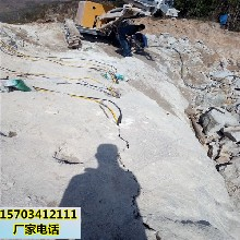 專業靜態破除巖石分裂設備山南圖片